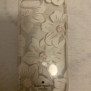 Kate Spade iPhone Case (White Flowers) *OBO